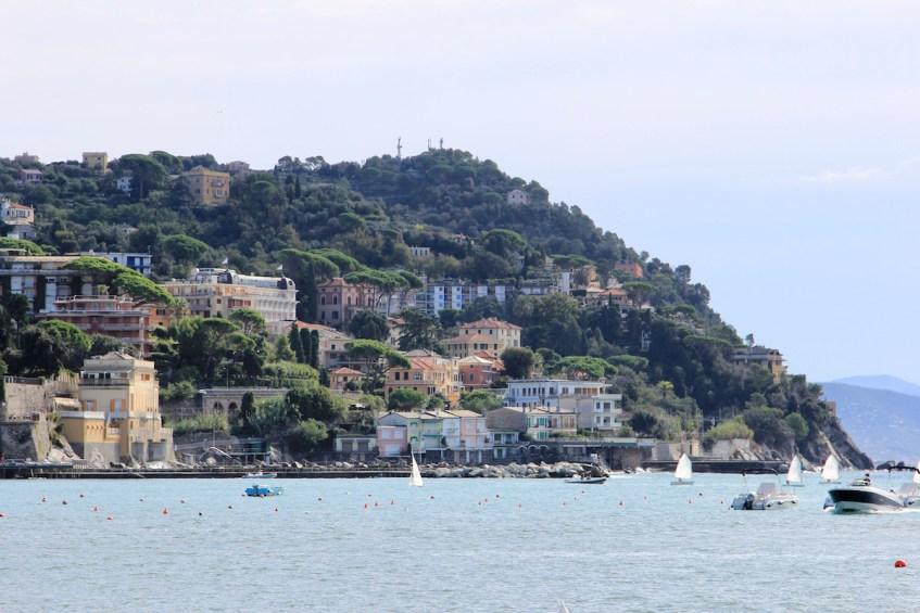 Italiaanse Bloemenrivièra: Rapallo is een heel mooi dorpje aan de Riviera di Levante