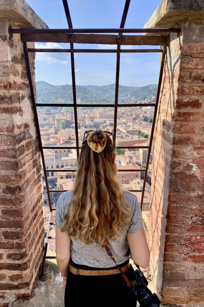 Stedentrip Bologna: tips wat te doen in Bologna beklim de torens