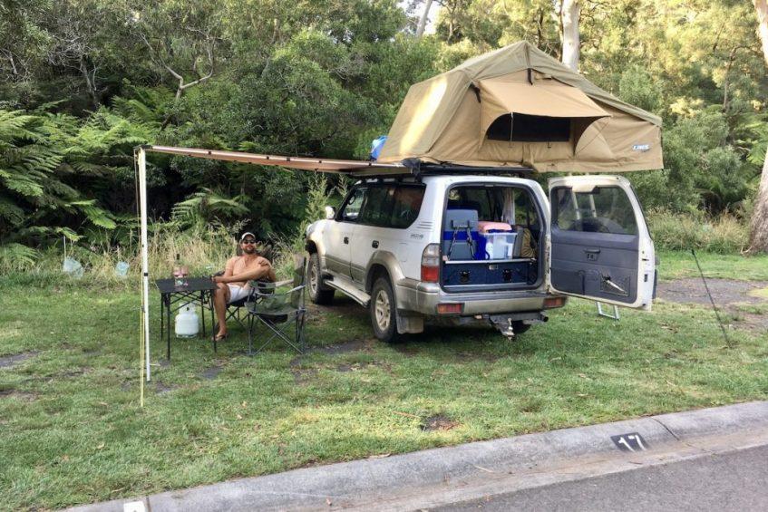 De beste Blue Mountains tips is ga kamperen op de mooiste plekjes in de natuur