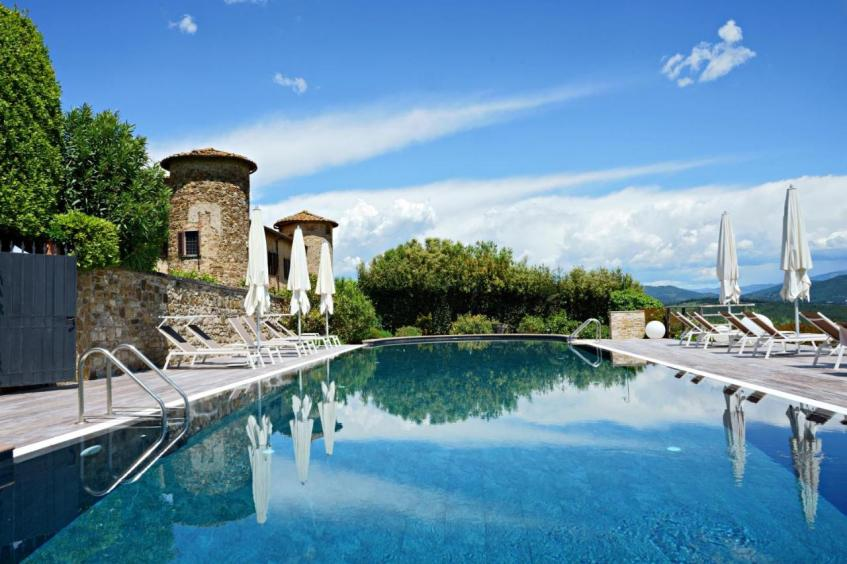Bijzonder overnachten in Toscane doe je bij Castello Di Gabbiano