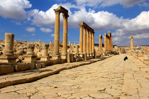 De Cardo Maximus in Jerash
