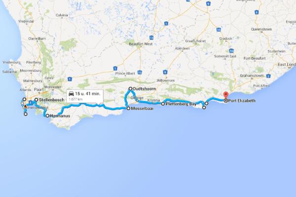 Kaapstad Route