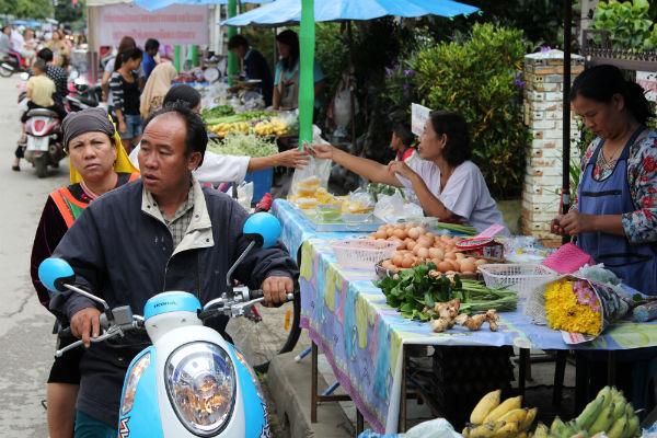 De markt in Pai