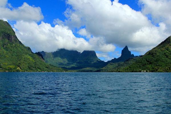 Het mooie eiland Moorea