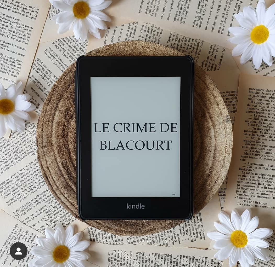 Chroniques littéraires Le Crime de Blacourt de Daphné Guillemette