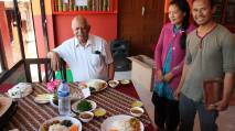 Daal bhat at Bhattedanda Homestay