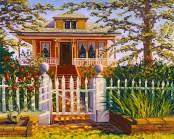 """Victorian Rose in Old Cordelia"" by Daphne Wynne Nixon"