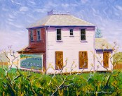 """""""Abandoned House in Old Cordelia"""" 2005 by Daphne Wynne Nixon"""