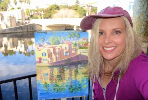 Finishing up a painting for the Capitola En Plein Air event last weekend.