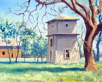 """Dixon Tank House"" by Daphne Wynne Nixon"