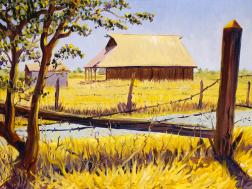 """The Paoli Barn in Old Town Corldelia"" by Daphne Wynne Nixon, 2004"