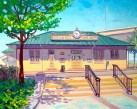 """""""Suisun City Train Station"""" by Daphne Wynne Nixon"""