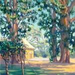 """""""Kiwi Vines at Iwama Market"""" by Daphne Wynne Nixon"""