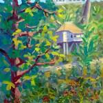 """""""Ripe Coffee Beans"""", 9″ x 12″, oil by Daphne Wynne Nixon"""