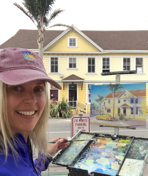 1 Daphne in Capitola Paintn out