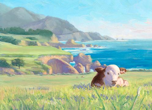 """""""Big Sur, Little Calf"""""""