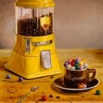 """""""Morning Cup of Gum Balls"""", oil, by Daphne Wynne Nixon"""