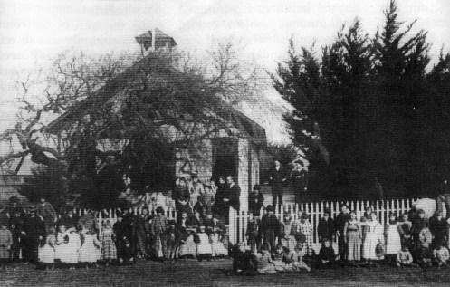 Green Valley School House in Cordelia built 1868