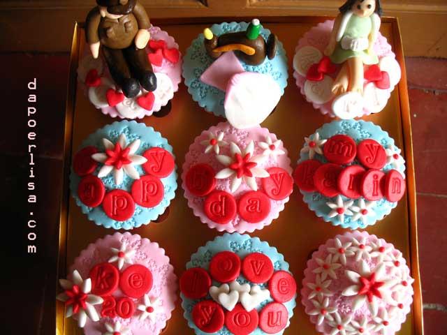 Cupcake Hias Fondant Dapoer Lisa