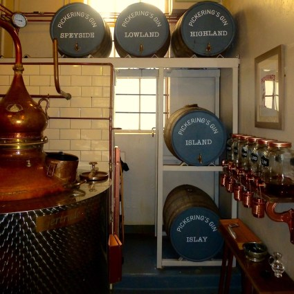 We just loved the set up of their distillery