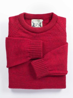 mk91.british.lambswool.crew.neck.sweater.red