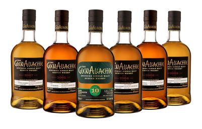 GlenAllachie Cask Strength, 10-year
