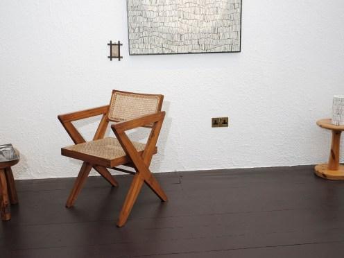 The Room - Art, 'Solemn' by Carl Koch. Furniture, chair designed by Pierre Jeanerette