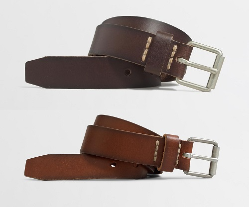 JCF Washed Leather Belts