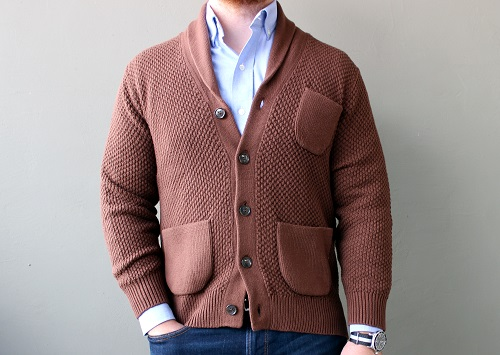 When You Wear a Cardigan People Say... | Dappered.Threads.com