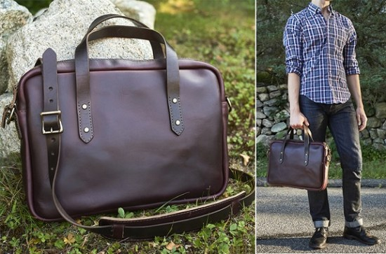 Gustin's Horween CXL #8 USA Made Briefcase
