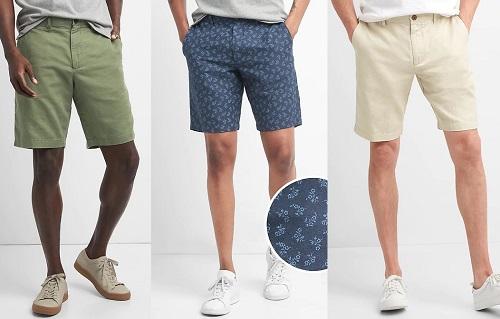 GAP Cotton/Linen Chino Shorts