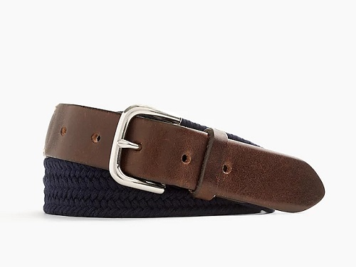 J. Crew Braided Web Belt