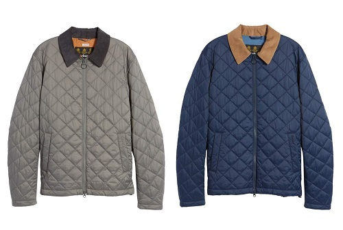 "Barbour ""Helm"" Quilted Jacket"