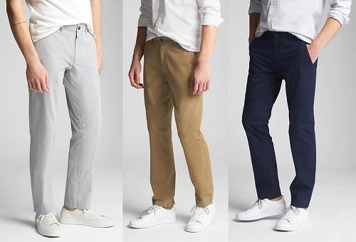GAP Wearlight Khakis