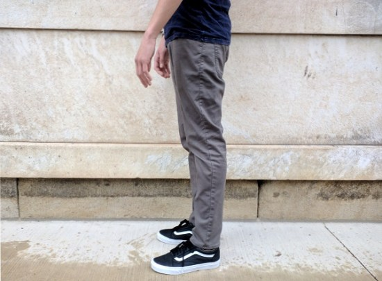 In Review: Old Navy All-Temp Twill Five-Pocket Pants | Dappered.com