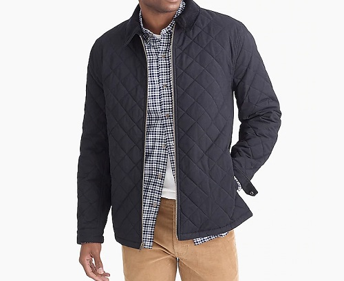 J.C.F. Cotton/Nylon Quilted Jacket