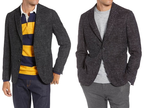 1901 Extra Trim Fit Wool/Cotton Sportcoat