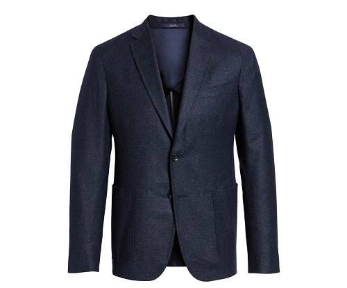 Made in Italy 1901 Extra Trim Fit Wool & Silk Sport Coat