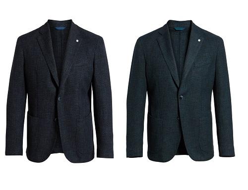 L.B.M 1911 Classic Fit Cotton & Wool Sport Coat
