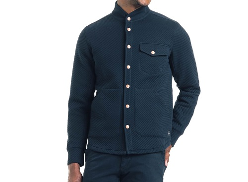 Good Man BrandTwill Quilted Slim Fit Shirt Jacket