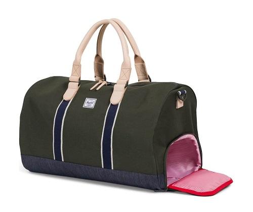 Herschel Supply Co. Novel Offset Denim Duffel Bag