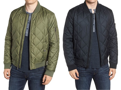 Marc New York Fletcher Quilted Bomber Jacket