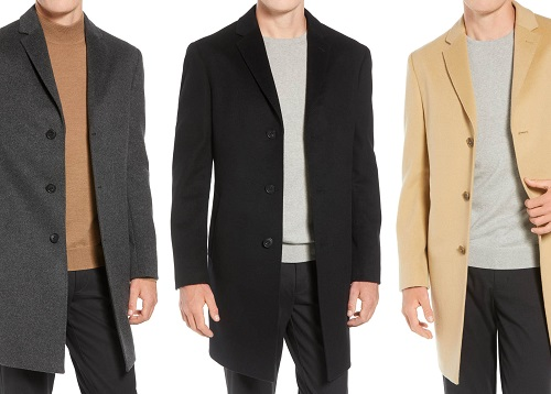 John W. Nordstrom 80% wool / 20% Cashmere Overcoat