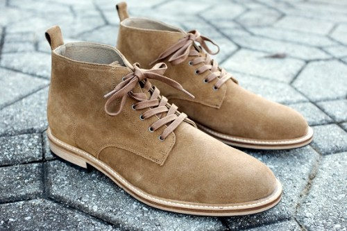 B.R. Arley Suede Work Boot