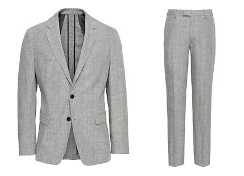 BR Heritage Slim Linen Suit