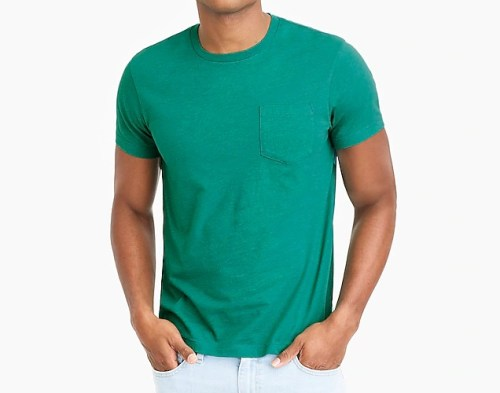 J. Crew Factory SLIM Pocket Tee