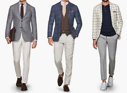 Suitsupply Havana Fit Linen Blend Sportcoats