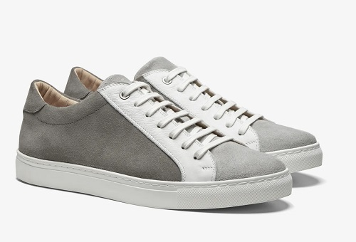 Suitsupply Grey Italian Suede Sneakers