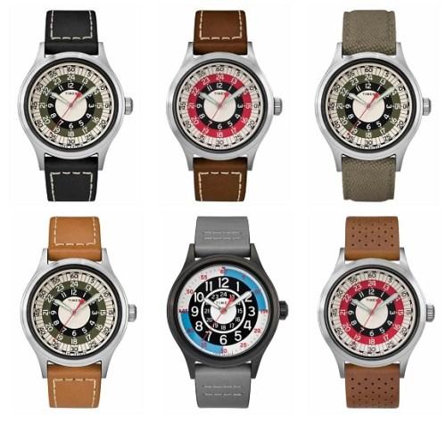 Todd Snyder x Timex Watches