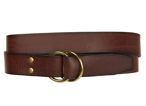 1901 Rowan D-Ring Leather Belt
